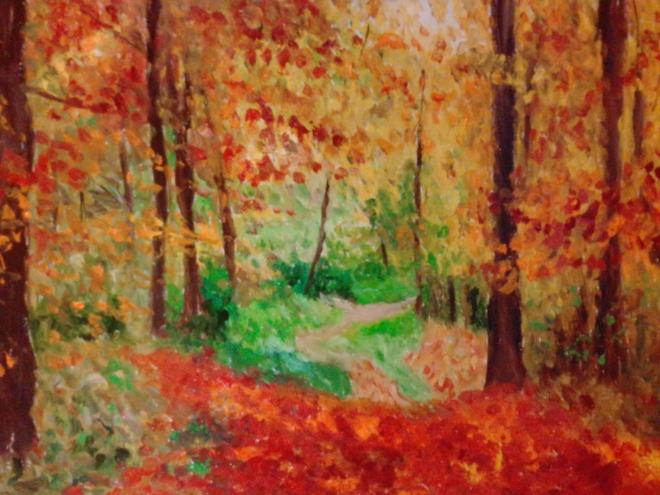 Осенний пейзаж 4