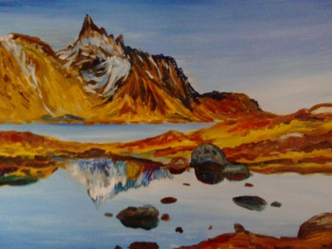 Горный пейзаж 2