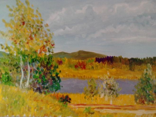 Осенний пейзаж 3