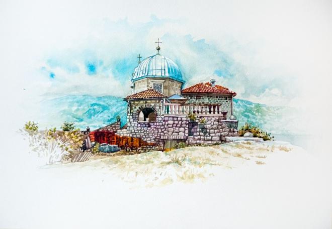 Черногория. Мадонна на Рифе