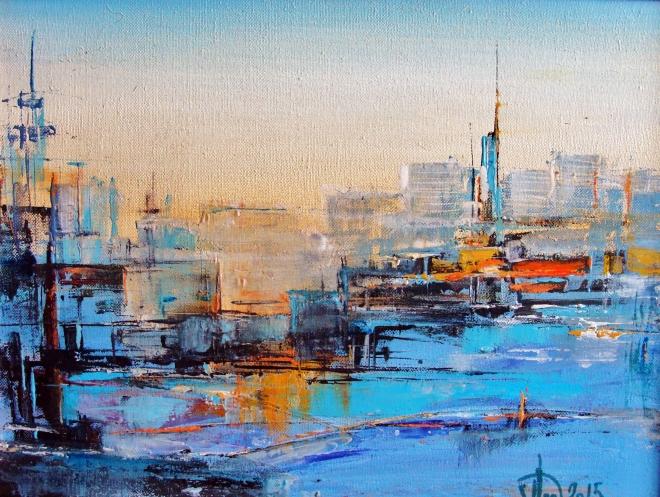 Картина на холсте Города. Порты. Аэропорты
