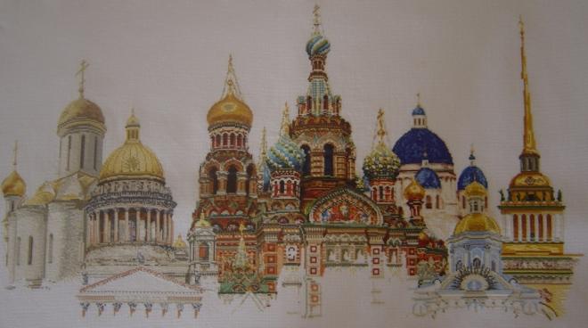 Купола Санкт-Петербурга