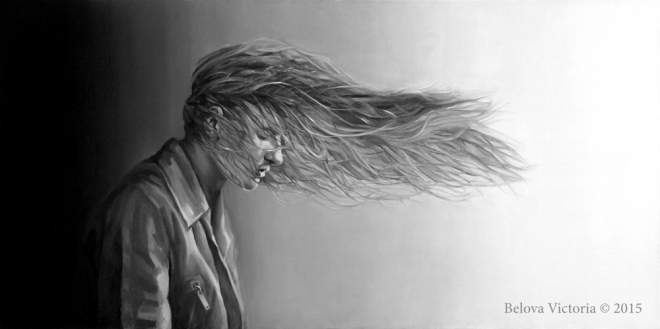 Картина маслом на холсте Ветер в спину. Попутный?