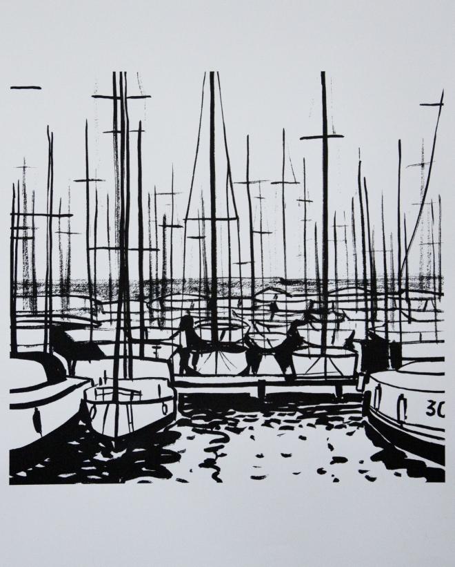Яхты, Барселона