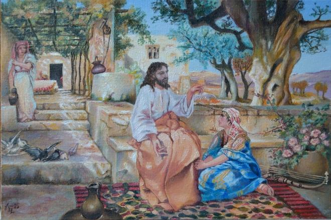 Христос в гостях у Марфы и Марии
