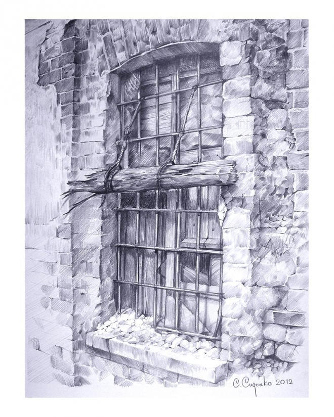 Картина Окно в прошлое