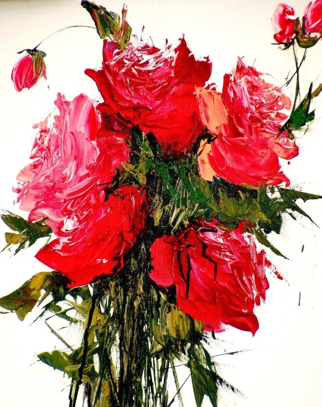 Картина на холсте Букет роз