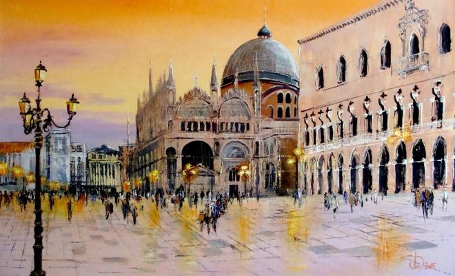 Венеция.Площадь Сан Марка