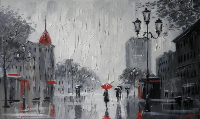 Кировка. Дождь