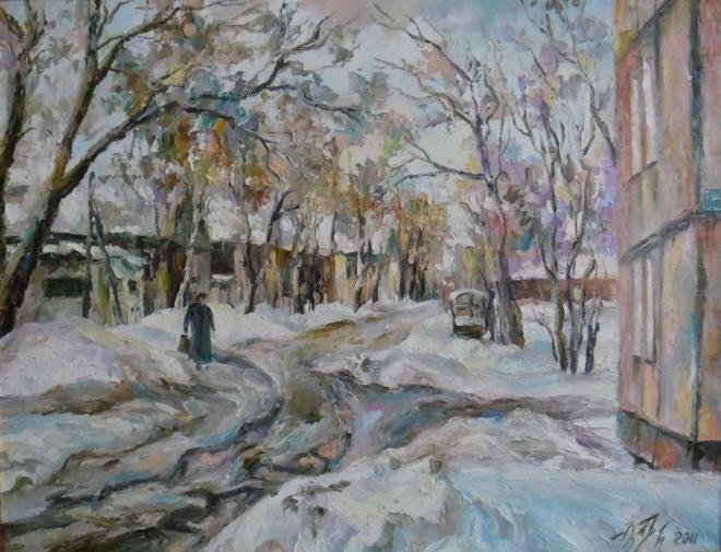 Улица Рабочая. Ульяновск