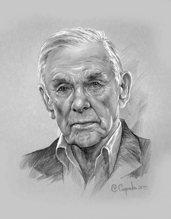 Портрет Г.С.Жженова
