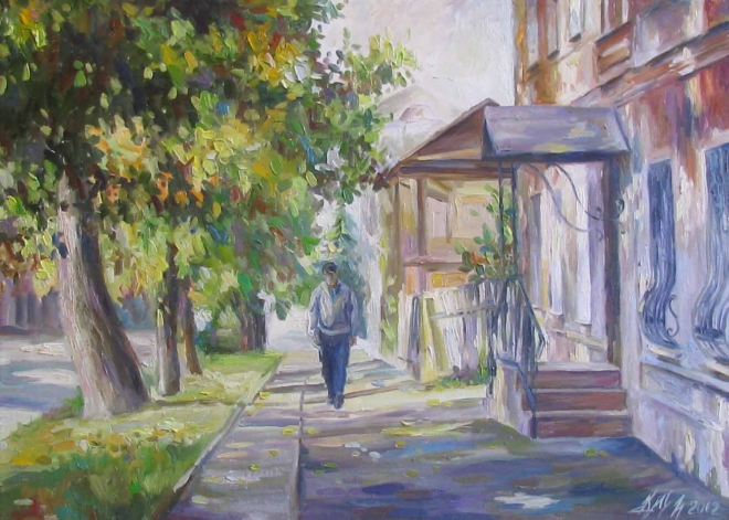 Улица Ленина. Ульяновск