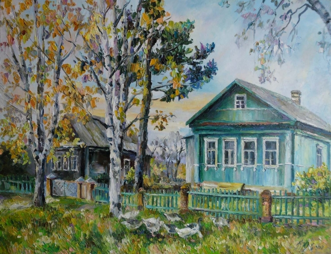 Шараповские домики