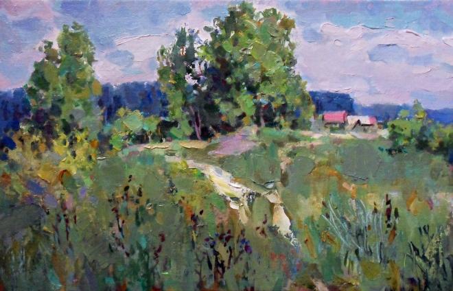Картина маслом На исходе лета