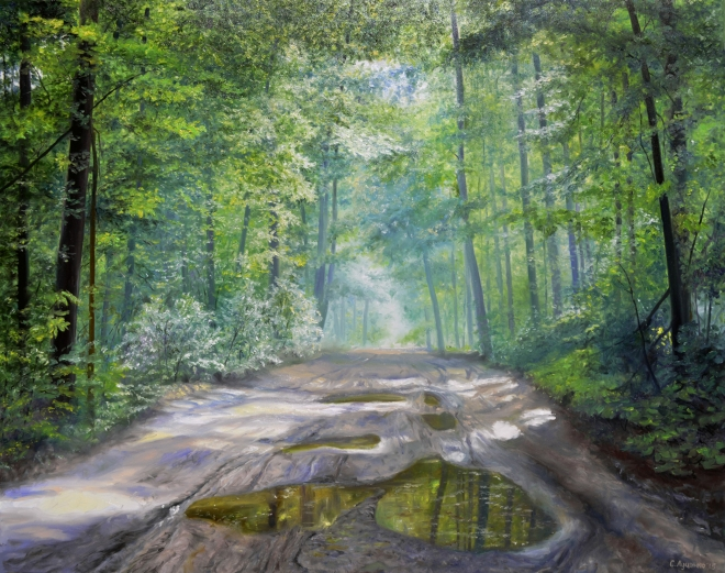 Дорога на пасеку