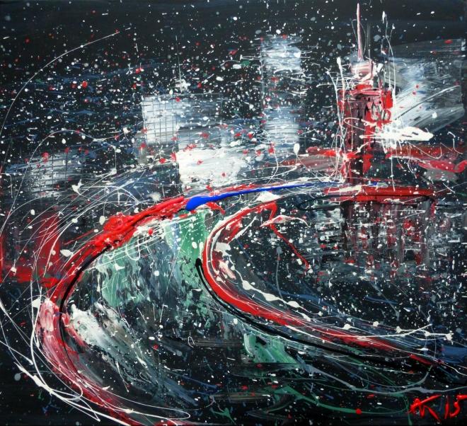 Картина на холсте Москва