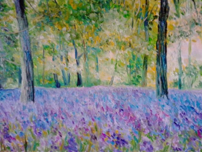 Лесной пейзаж 5