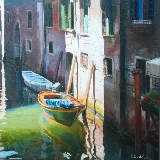 Утро в Венеции